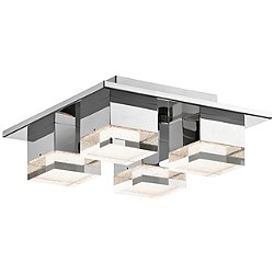 Gorve 4 Light LED Flush Mount Ceiling Light