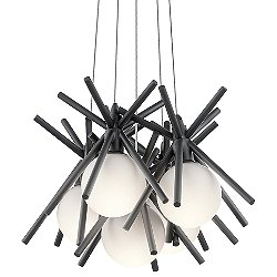 Beale LED Cluster Pendant Light
