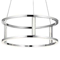 Mira LED Drum Pendant Light