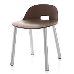 Alfi Aluminum Chair, Low Back