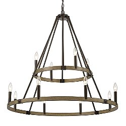 Sally 2 Tier Chandelier