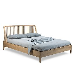 Spindle Bed with Slats