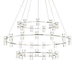 Ferrara 3-Tier LED Chandelier