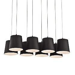 Anzio LED Multi-Light Pendant Light