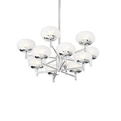 Tivoli 2 Tier Chandelier