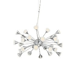 Viterbo LED Pendant / Semi-Flush Mount Ceiling Light
