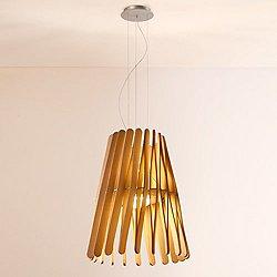 Stick LED Cone Pendant Light