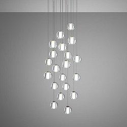 Beluga Multispot 20-Light Round Pendant Light