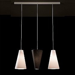 Aqua SO 3 Light Up/Down Pendant Light