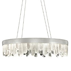 Lior Short Glass LED Pendant Light