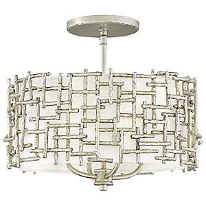 Farrah Pendant/Semi-Flush Mount Ceiling Light by Fredrick Ramond