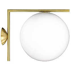 IC Wall/Ceiling Light by FLOS(Brass/Large) - OPEN BOX RETURN