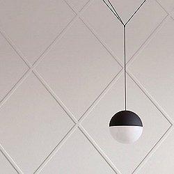 String Light Round Pendant Light