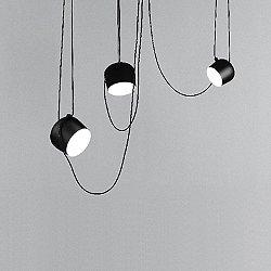 Aim LED Multi-Light Pendant Light