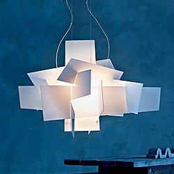 Big Bang LED Chandelier (White/78 In) - OPEN BOX RETURN