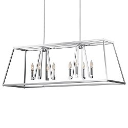 Conant 8 Light Linear Suspension Light