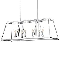 Conant 8 Light Linear Suspension Light