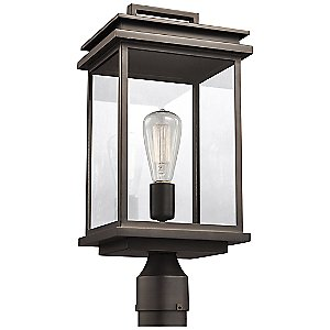 Glenview Outdoor Post Light by Feiss