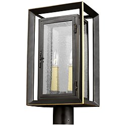 Urbandale 2 Light Outdoor Post Light