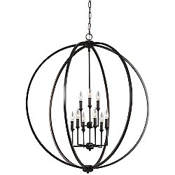 Corinne 9-Light Chandelier