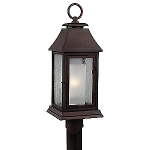 Shepherd Outdoor Post Light by Feiss