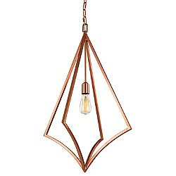Nico Pendant Light (Copper/19 Inch) - OPEN BOX RETURN