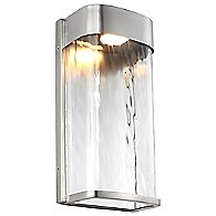 Bennie LED Outdoor Wall Light (Painted Brushed Steel/12 Inch) - OPEN BOX RETURN