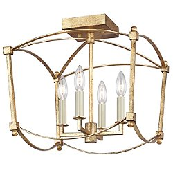 Thayer Semi-Flush Mount Ceiling Light