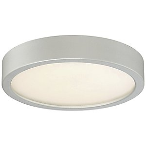 LED Flush Mount Ceiling Light (Silver/8-Inch) - OPEN BOX RETURN by George Kovacs