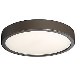 LED Flush Mount Ceiling Light (Painted Copper Bronze Patina/10-Inch) - OPEN BOX RETURN