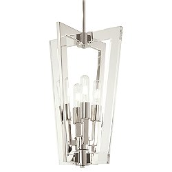 Crystal Chrome P1375 Pendant Light