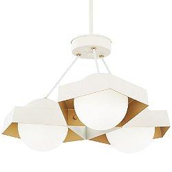 Five-O LED Pendant / Semi-Flush Mount Ceiling Light