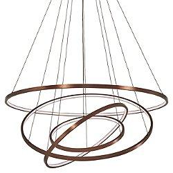 Full Orbit 4-Ring LED Pendant Light