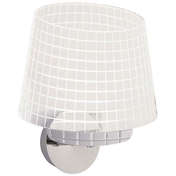 Led Wall Light By George Kovacs - Color: Silver - Finish: Chrome - (p1650-077-l)