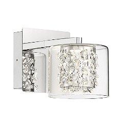 Wild Gems LED Bathroom Wall Sconce
