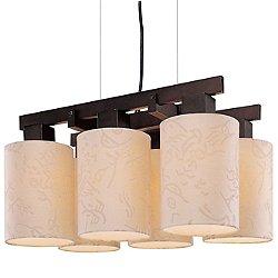 Kimono 6-Light Chandelier by George Kovacs - OPEN BOX RETURN