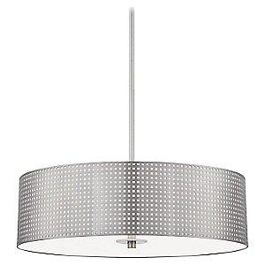 Grid 4 Light Pendant Light by George Kovacs