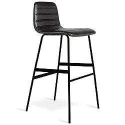 Lecture Upholstered Leather Stool