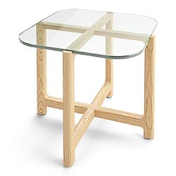 Quarry Glass End Table