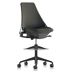Sayl Stool-Upholstered Armless