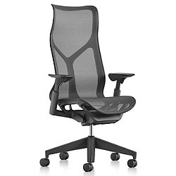 Cosm High Back Chair with Height Adjustable Arms