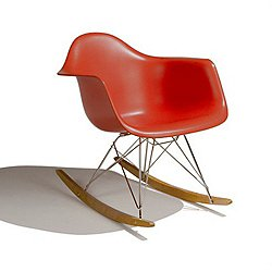 Eames Molded Plastic Rocker Chair
