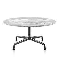Eames Round Occasional Tables with Universal Base, Outdoor