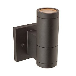 Vaso Black Outdoor Wall Light
