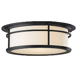 Province Outdoor Flush Mount Ceiling Light