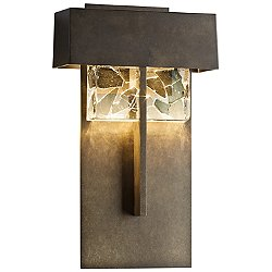 Shard Large LED Outdoor Wall Light