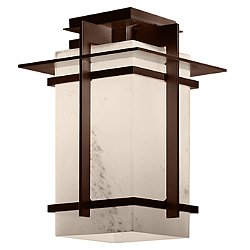 Tourou Outdoor Semi-Flush Mount Ceiling Light