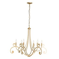 Bella 6 Arm Chandelier