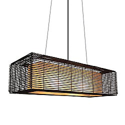Kai Rectangular Suspension Light