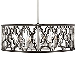 Portico Drum Pendant Light